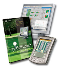 Track your golf statistics with your own personal golf coach.