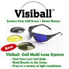 Golf Ball Finder Glasses help you find your golf ball.